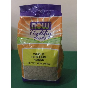Now Healthy Foods Whole Psyllium Husks